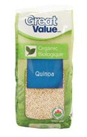 Quinoa biologique de Great Value