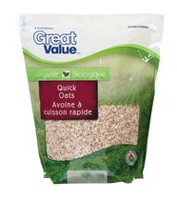 Great Value Organic Quick Oats