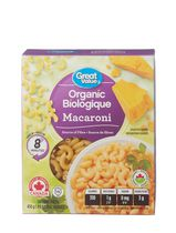 Pâtes macaroni de Great Value Biologique