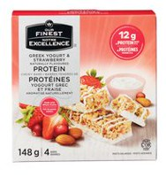 Our Finest Greek Yogurt and Strawberry Protein Chewy Bars