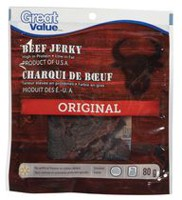 Great Value Beef Jerky Original