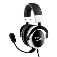 Kingston Technology HyperX Cloud Headset Headphones with Microphone - White
