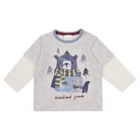 George British Design Baby Boys' Fooler Shirt 0-3 months