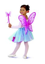 Cutie Boutique Fairy Wings & Wand Set Dark Pink