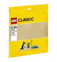 LEGO(MD) Classic - Plaque de base sable (10699)