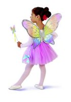 Cutie Boutique Fairy Wings & Wand Set Rainbow