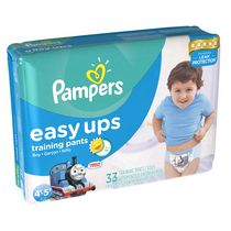 Pampers Easy Ups Training Pants Mega Boys Size 6