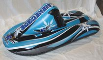 "Renegade 42"" Inflatable Snowmobile"