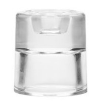 Mainstays Glass Dual Candle Holder