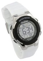 Cardinal Ladies Multi-Function White Strap Digital Watch