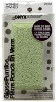 Onyx Professional Glass Stone Foot Pumice