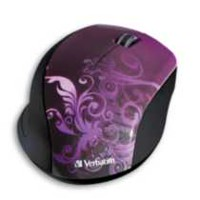 Verbatim Wireless Optical Design Mouse Purple