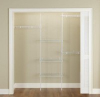 Rubbermaid Complete Closet Kit
