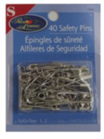 Steel Safety Pins, assorted sizes