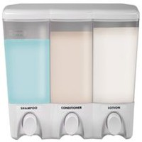Mainstays 3-Chamber Shower Dispenser