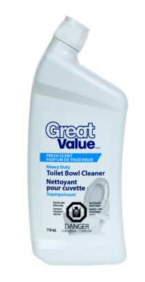 Great Value Nettoyant pour cuvetted superpuissant
