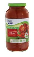 Great Value Organic Arrabbiata Pasta Sauce