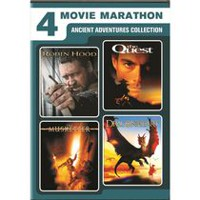 4-Movie Marathon: Ancient Adventures Collection - Robin Hood / The Quest / The Musketeer / Dragonheart