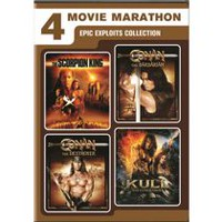 4-Movie Marathon: Epic Exploits Collection - The Scorpion King / Kull The Conqueror / Conan The Barbarian / Conan The Destroyer