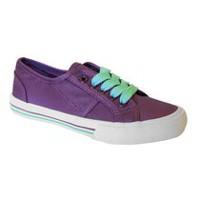 George Girls' 62Kickslow17 Low Top Lace Up Shoes purple 1