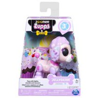 Zoomer Zupps Tiny Pups, Poodle Jellybean, Litter 3 - Interactive Puppy with Lights, Sounds and Sensors