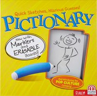 Pictionary Game - English Version