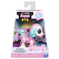 Zoomer Zupps Tiny Pups, Spaniel Bubblegum, Litter 3 - Interactive Puppy with Lights, Sounds and Sensors
