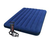 Intex Full Downy Air Mattress with Mini Hand Pump