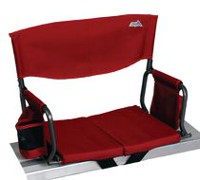 Rio Stadium Red Arm Chair Red