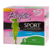 Playtex® Sport™ Super Unscented Tampons 36 Count