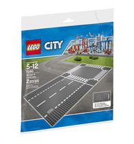 LEGO® - City Supplementary - Straight & Crossroad Building Toy