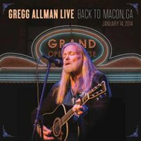 Gregg Allman Live: Back To Macon, GA - January 14, 2014 (Music Blu-ray)