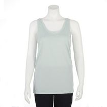 Danskin Women's Scoop Neck Tank Top Turquoise XL/TG