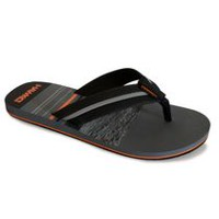 Tony Hawk Men's 14HAWKM18 Beach Flip Flop Black Multi 9-10