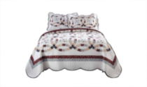 Hometrends Quilt Set - Brielle Double/Queen