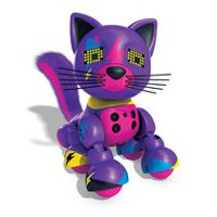 Zoomer Meowzies, Lucky, Interactive Kitten with Lights, Sounds and Sensors Playset