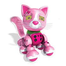 Zoomer Meowzies, Arista, Interactive Kitten with Lights, Sounds and Sensors Playset