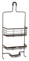 Hometrends Over the Shower Caddy, Oil Rubbed Bronze