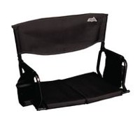 Rio Stadium Red Arm Chair Black
