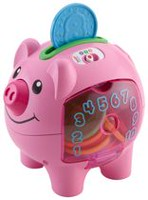 Fisher-Price Laugh & Learn Smart Stages Piggy Bank - English Edition