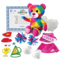 Build-A-Bear Workshop Furry Fashions Cheer Bear Plush Toy