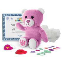 Build-A-Bear Workshop Furry Friends Pink Bear Plush Toy