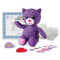 Build-A-Bear Workshop Furry Friends Purple Kitty Plush Toy