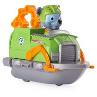 PAW Patrol Rescue Racers Rocky's Boat Toy Vehicle