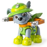 PAW Patrol Hero Pup Jungle Rescue Rocky Figure