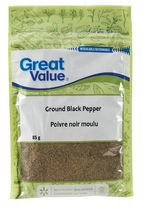 Great Value Ground Black Pepper