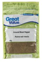 Poivre noir moulu de Great Value