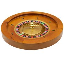 Ovalyon Wooden High-end Roulette Wheel