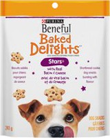 Purina(R) Beneful(R) Baked Delights(TM) Stars(TM) Bacon & Cheese Dog Snacks