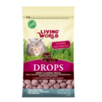 Living World Hamster Drops, Field Berry, 75 g (2.6 oz)